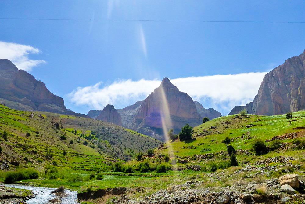 Canyoning dans d'autres régions du Maroc comme Taghia