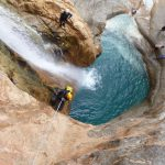 Canyoning au Maroc dans la région d'Agadir