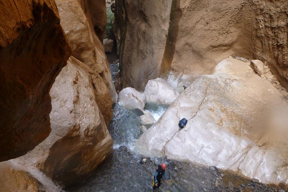 Canyoning dans d'autres régions du Maroc comme Beni Mellal.