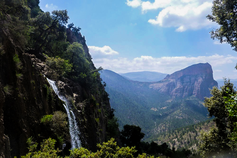 Canyoning in other regions of Morocco like The Cathedral.