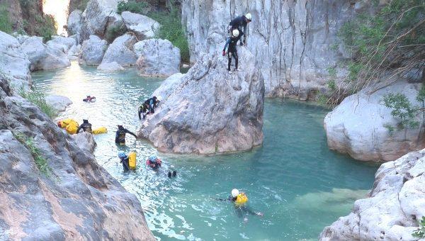 Canyon Madame dans la région d'Agadir.
