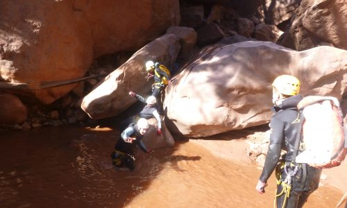 canyon marrakech ourika maroc canyoning morocco (3)