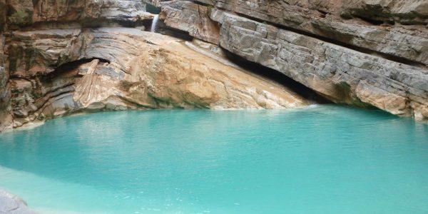 Canyon dans la vallée du Paradis dans la région d'Agadir. Page Vidéos.