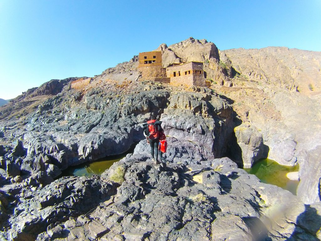 Canyoning in other regions in Morocco like Ouarzazate.