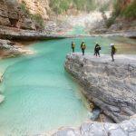 Canyon vallée du Paradis dans la région d'Agadir.